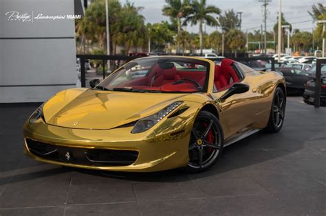 chrome ferrari 458 ferrari 458 chrome gold racedepartment
