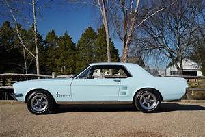 1967 Ford Mustang 289 Automatic Coupe Arcadian Blue SOLD | Car And Classic