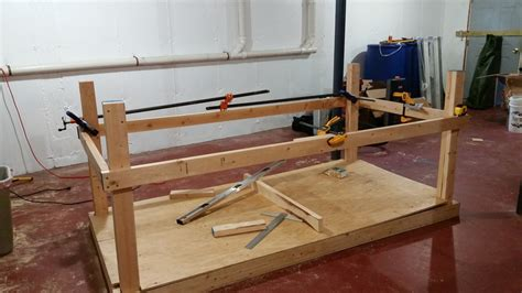 build  workbench  shelving unit   garage