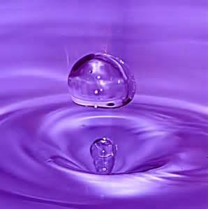 Purple Raindrops