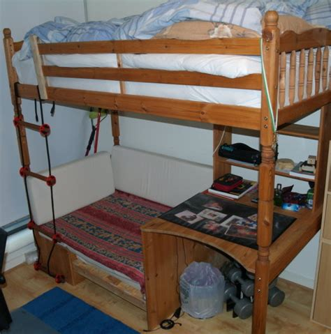 Classic High Sleeper With Sofa Bed by Classic High Sleeper With Sofa Bed For Sale In Tallaght