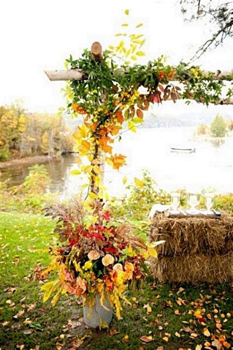 whimsical outdoor fall wedding ideas your ideal wedding