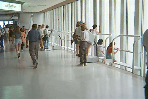 Observation Deck At Wtcs Freedom Tower by World Trade Center South Tower Observation Deck Pre
