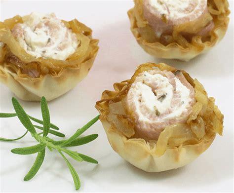 canape cups recipes ham phyllo canapes hor dourves recipes athens foods