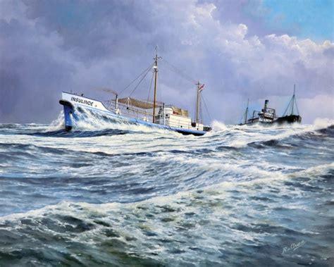 Oude Vissersboot Te Koop by Expositie Scheepsportretten En Schilderijen Met