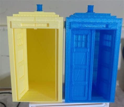 Tardis Cupboard by Tardis With Doors Free 3d Model 3d Printable Stl