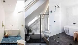 Salle De Bain Etroite : les 10 tendances salles de bain les plus prometteuses pour 2019 ~ Melissatoandfro.com Idées de Décoration