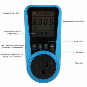 Dropshipping For Household Power Meter Measuring Outlet