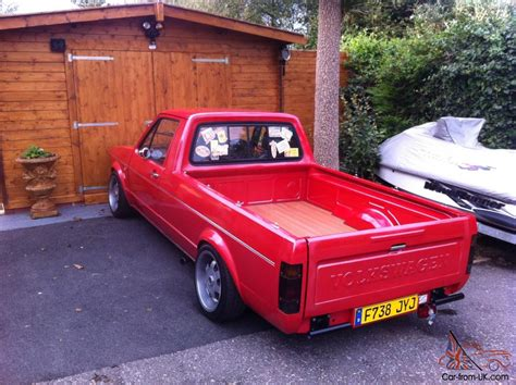 volkswagen caddy pickup mk1 vw mk1 caddy pick up