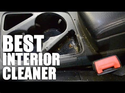 car interior cleaner youtube
