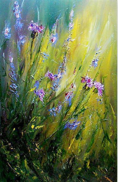 cuadros pinturas oleos pintura moderna al 211 leo flores