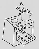 Coloring Stove Cool sketch template