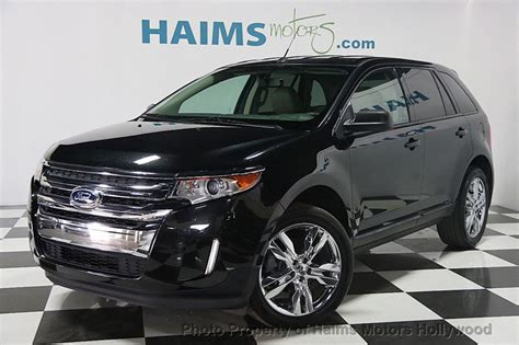 ford edge dr sel fwd  haims motors serving