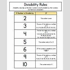 How Can You Tell If A Number Is Divisible By Another Number? Use Divisibility Rules! Tj