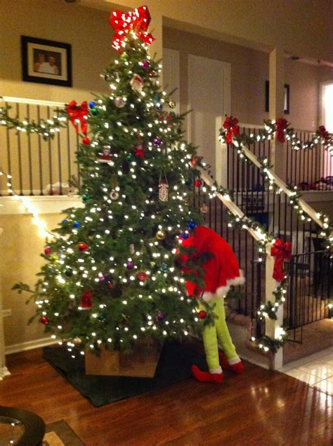 the grinch who stole christmas tree christmas pinterest