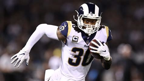 todd gurley  rams feeling good  super bowl