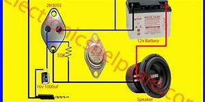 Easy Amplifier Circuit Diagram Using 2n3055 Only