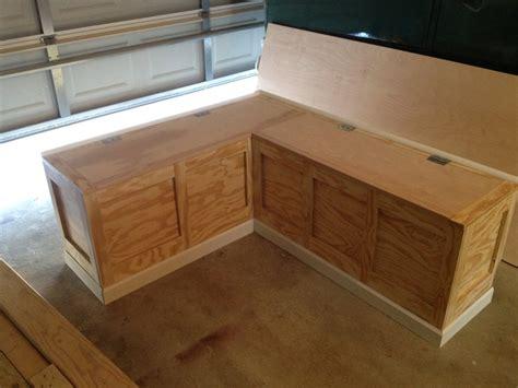 Diy Kitchen Nook Ideas by Breakfast Nook Bench With Storage Loccie Better Homes