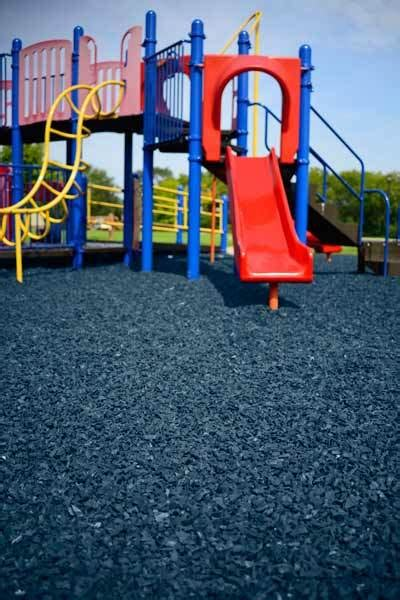 playground safety surfacing ground cover borders