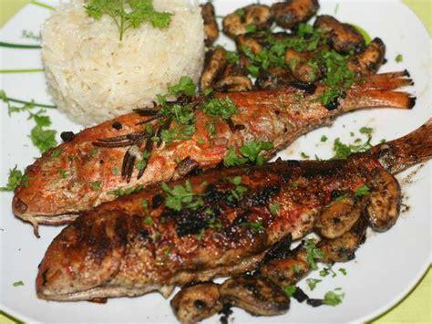 cuisine cretoise recettes recettes de rougets 5