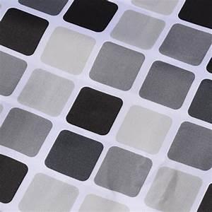 Duschvorhang Schwarz Weiß : schwarz weiss grau plaid badewanne badezimmer stoff duschvorhang wasserd gy ebay ~ Yasmunasinghe.com Haus und Dekorationen