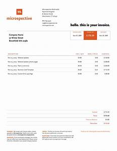 Web design invoice template free business template for Web design invoice template