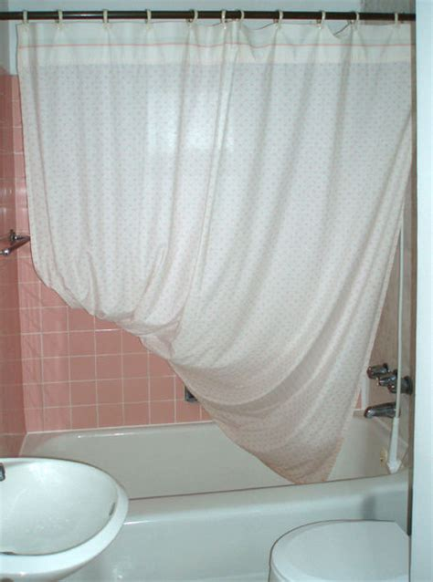 a mold free shower curtain in your bathtub