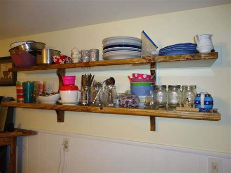 Hand Made Kitchen Shelves By Coopers Custom Projects