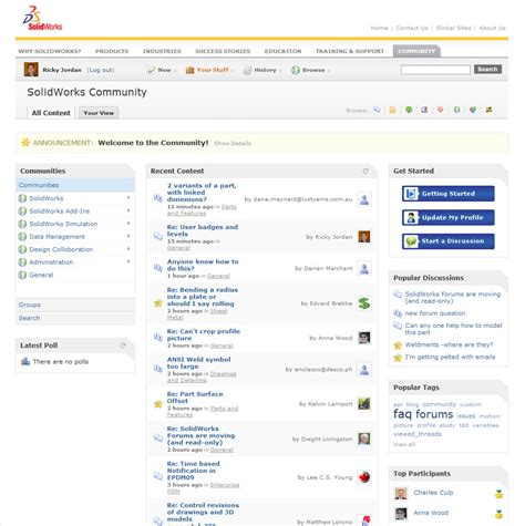 Runescape Forum Community Forums For All Solidworks Community Forum Ricky 39 S