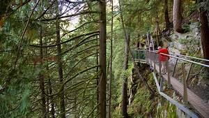 Capilano Suspension Bridge in Vancouver, British Columbia ...