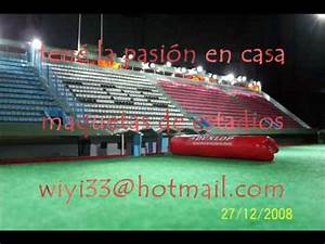 MAQUETAS ESTADIOS YouTube