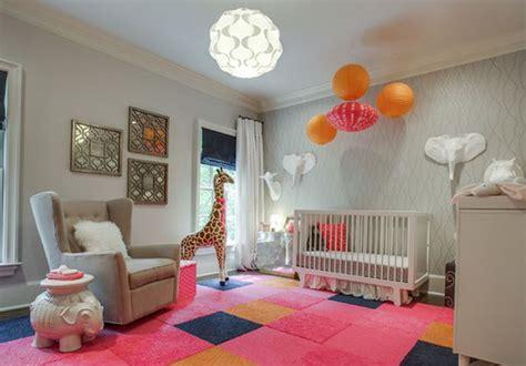 chambre bébé safari decoration chambre bebe safari