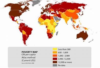 Poverty Development Hunger Map Goals Extreme Millennium