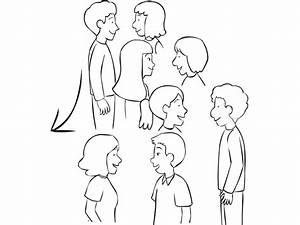 U304a U3057 U3083 U308c U306a Group Of People Talking Drawing