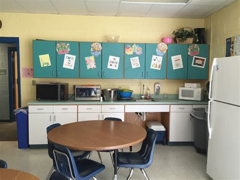 A Teachers Lounge Makeover, Just In Time For Back To