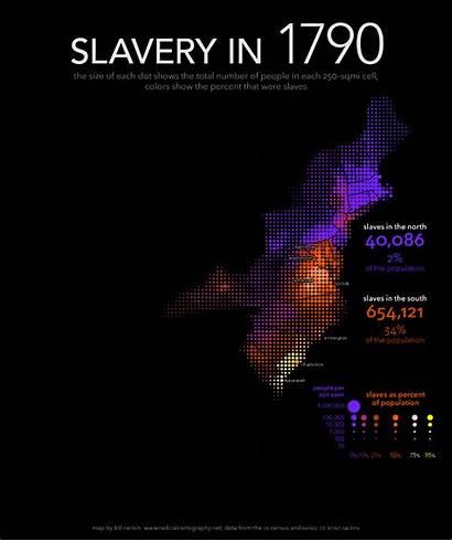 Slavery American Map Rankin Population Slave Bill