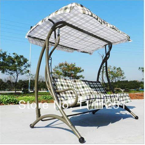 luxury swing outdoor three swing casual furniture indoor