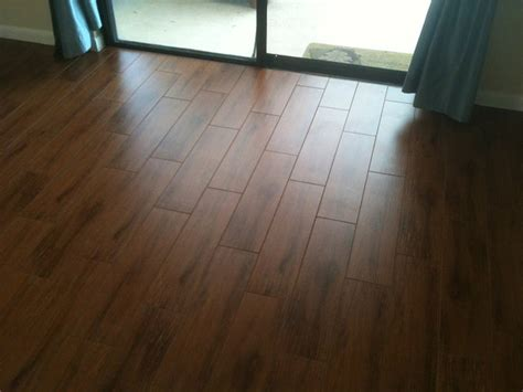 porcelain plank wood  tile installations tampa