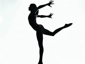 Gymnast Silhouette Gymnastics Silhouettes Pinterest
