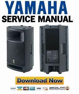 Yamaha Msr400 Speaker Service Manual  U0026 Repair Guide