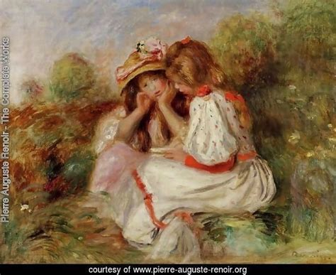Pierre Auguste Renoir The Complete Works Two Little