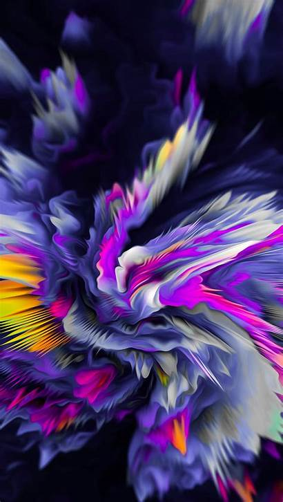 Abstract Flower 8k Ultra Vertical Exploding Wallpapers