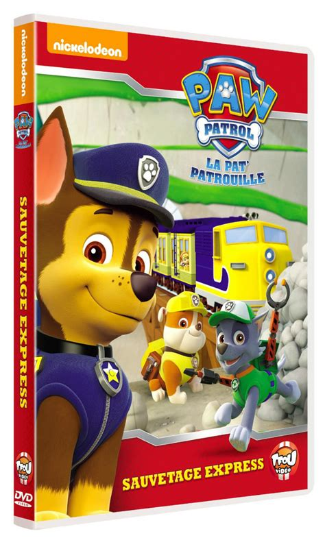 dvd vol  sauvetage express paw dvd series