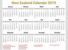 Image for New Zealand Calendar 2019 download Bear