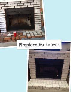 fireplace diy drab to fab fireplace diy fireplace makeover turn drab brick into fab white