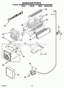 Kitchenaid Superba Refrigerator Parts Diagram