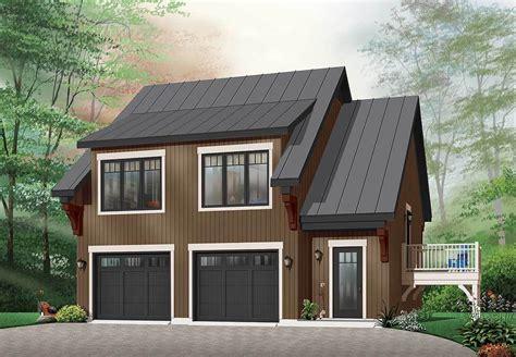 Plan De Garage Avec Loft by Comfortable Garage Apartment 21207dr Architectural