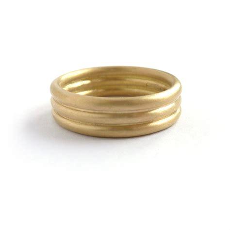 modern alternative matt wedding ring for men or women sue