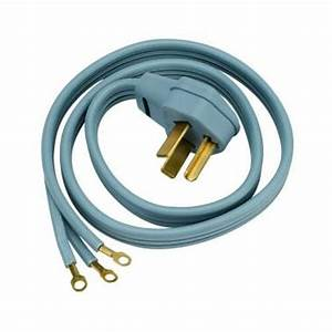 Universal 3 Prong Electric Dryer Power Cord    5 Ft    30