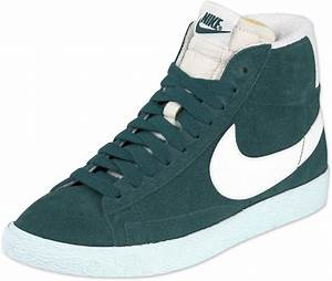 Nike Blazer Mid Suede Vintage W shoes green  Mid